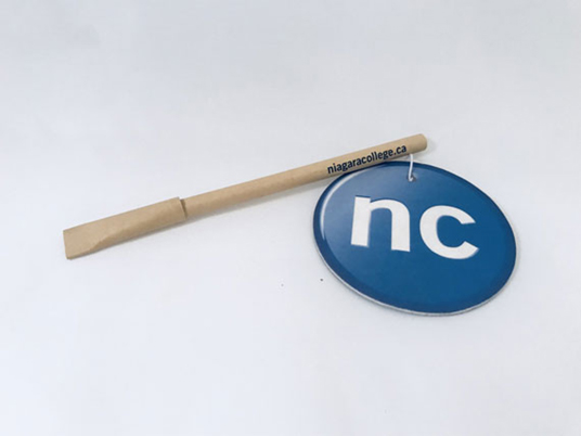 Niagra College promotional product